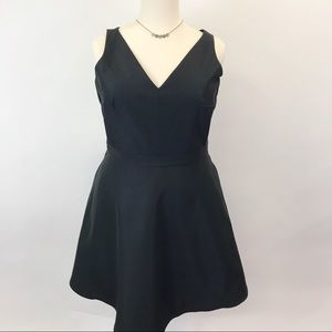 NWT Gap Little black fit and flair dress 18